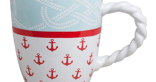 Pinterest Mugs Stoneware Mugs Nautical Decor