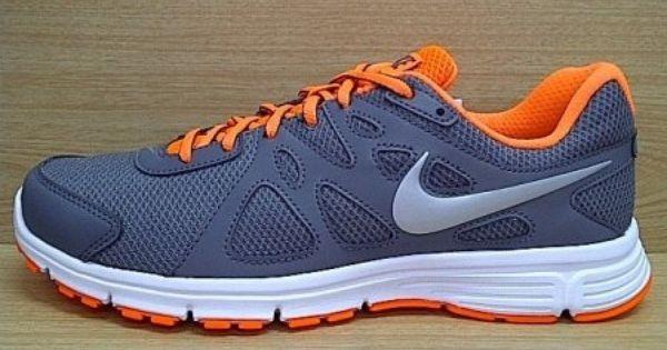 Kode Sepatu Nike Revolution 2 Grey Orange Ukuran Sepatu 41