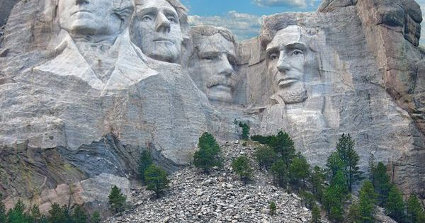 Mount Rushmore National Memorial South Dakota, this is a must see also,