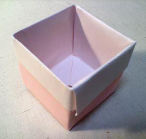 折り紙の箱作り方 深い箱バージョン ガジャのねーさんの 空をみあげて Hazle Cucu 折り紙の箱 折り紙 紙 箱 作り方