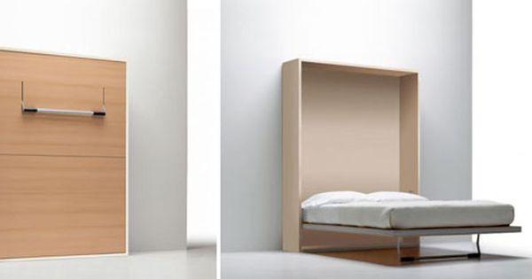 Camas plegables adosadas a la pared moda y hogar camas - Camas pegadas ala pared ...