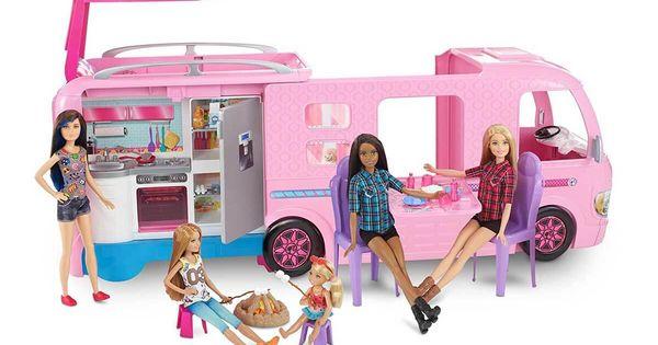Barbie Pembe Karavan Toyzz Shop Yildizlarin Altinda Barbie Pembe