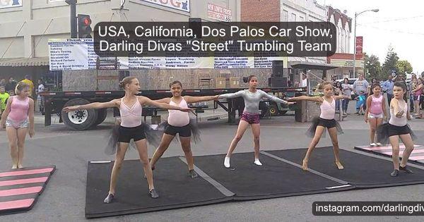 Usa California Darling Divas Street Tumbling Team Dos Palos