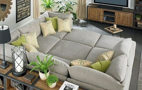 Big comfy couch for family room