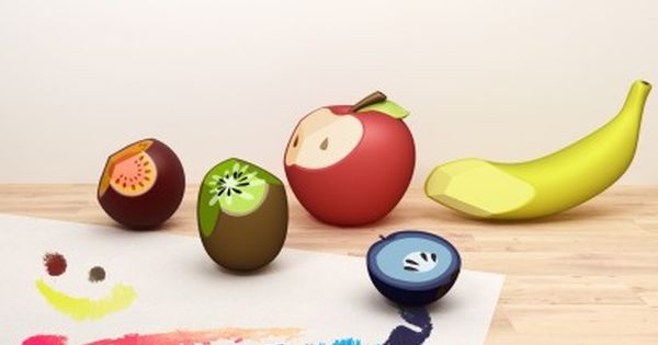 red dot online: design concept - Education - Fruit Crayon