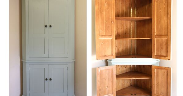 handmade solid wood larder unit freestanding kitchen units john willies country kitchens. Black Bedroom Furniture Sets. Home Design Ideas