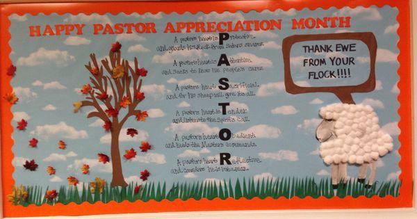 Pastor Appreciation Ideas Pastor Appreciation Bulletin