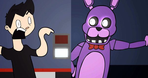 Five Nights At Freddy S Animated By Markiplier Haha You