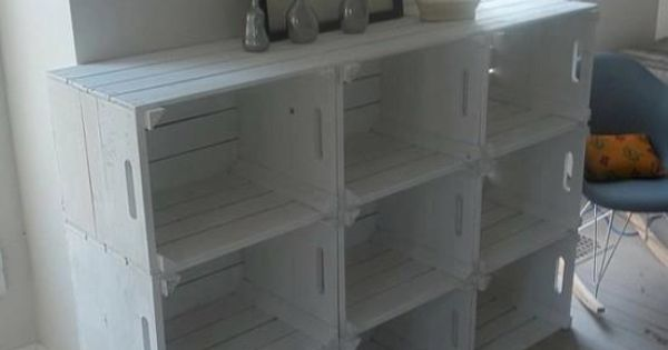 Diy bookcase ideas ver las mejores ideas sobre cajas de - Cajas para estanterias ...