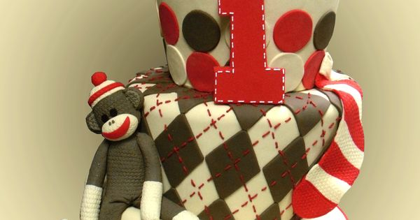 @Cassie Springer Noticed you pinning sock monkey party ideas!! I'm obsessed with