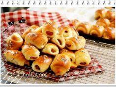 Resep Roti Unyil Sosis Keju Favorit Keluarga Mini Sausage Roll Bun Oleh Tintin Rayner Resep Resep Roti Resep Sosis
