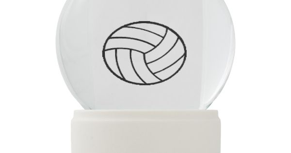 Bestseller Christmas Xmas Volleyball Snow Globe Zazzle Com Snow Globes Glass Globe Faux Stone