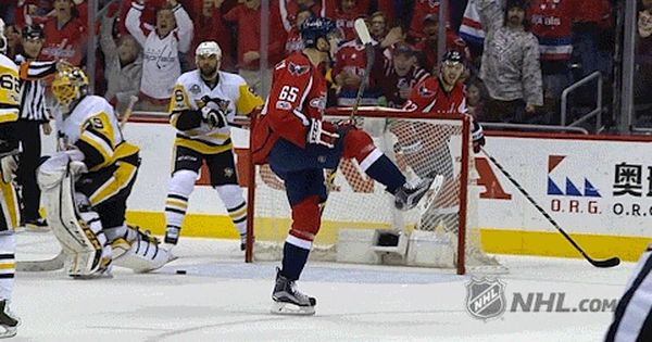Stanley Cup Playoffs Gif By Nhl With Images Capitals Hockey