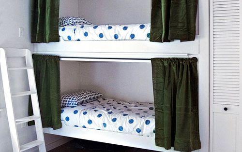 bunk room via design sponge