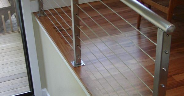 Decks With Wire Cable Railings Railing Is A Deco Steel