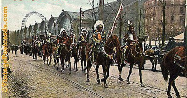 Buffalo Bill S Wild West Show Parade Colored