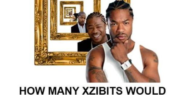 How many Xzibits would Xzibit exhibit if Xzibit could exhibit Xzibits? Yo