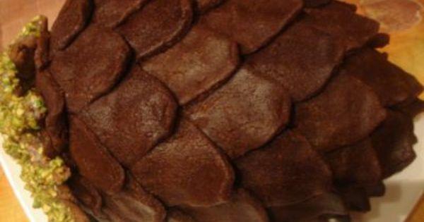 Торт шишка рецепт с фото