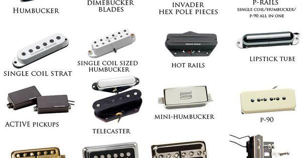 Bass Pickups Types : guitar pickup types guitars pinterest guitar pickups guitars and instruments ~ Vivirlamusica.com Haus und Dekorationen