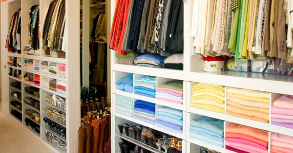 Dream Closet. Beautiful Closet. Organized Closet. Walk-in Closet.