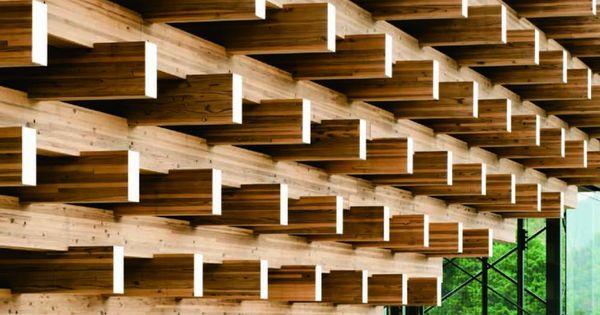 Museo puente de madera yusuhara by kengo kuma associates for Japanische architektur holz