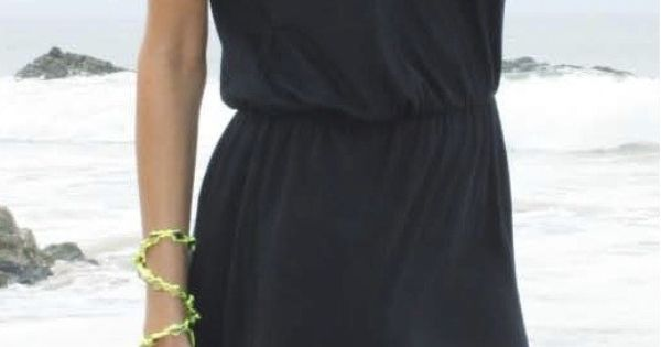 Blue Life-Two Slit Halter Dress