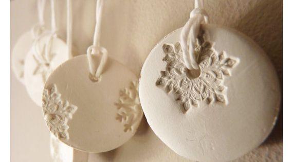#snowflake ornament, porcelain details, christmas decoration, seasonal decoration, winter design €19 world