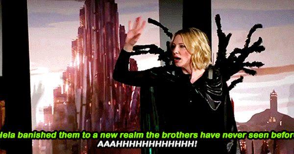 Cate Blanchett Hahahaha Marvel Actors Thor Ragnarok Cast Cate Blanchett