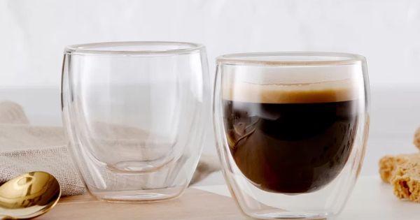 Soliz Barista Double Wall Espresso Cup Espresso Cups Barista Double Walled