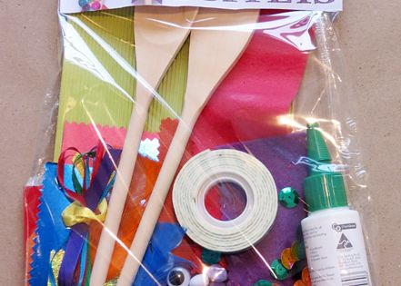 Diy puppet kit. Great homemade gift!