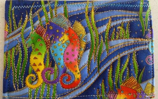 Quilted Postcard S Fabric Postcards Pinterest