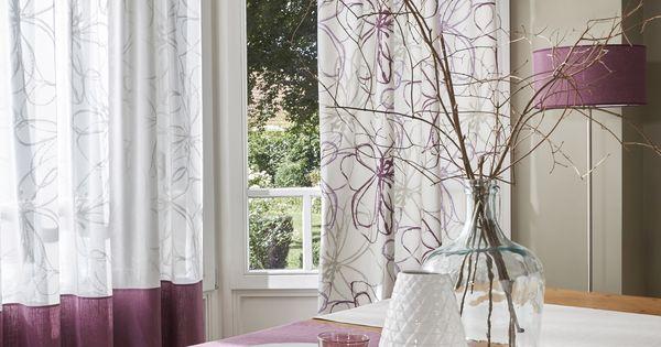 confection en tissu astera violine et confection duo. Black Bedroom Furniture Sets. Home Design Ideas