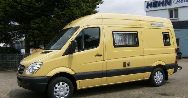 hehn star a mercedes sprinter camper van built in germany. Black Bedroom Furniture Sets. Home Design Ideas