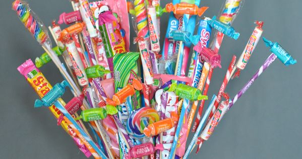 Learn How To Make A Cute Candy Bouquet, A Fun Treat For