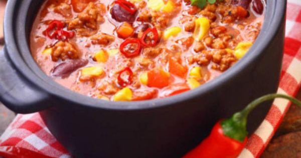 Classic Chili Con Carne - Food Blogs   Pinterest - Chili Con Carne en ...