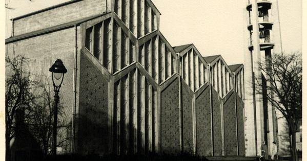 rudolf schwarz kirche st joseph k ln braunsfeld 1953. Black Bedroom Furniture Sets. Home Design Ideas