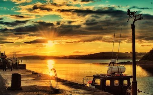 Clew Bay sunset, Westport, Co Mayo, Ireland (Photo by Gerry Chaney)