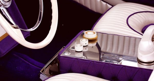 Purple interior
