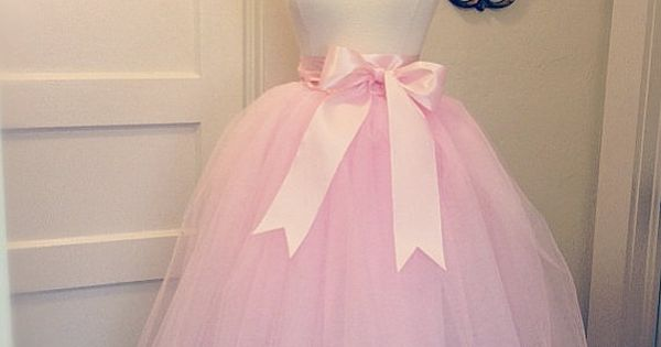 Light Gray Bridesmaid Dresses Knee Length Soft Tulle: Light Pink Blush Tulle Tutu Tea Length Skirt By