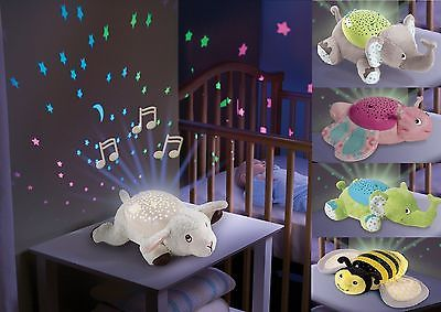 Baby Sleep Soother Musical Night Light Projector Infant Nursery