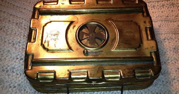 What Is A Victorian Bed Warmer : Late th century foot hand warmer bed by