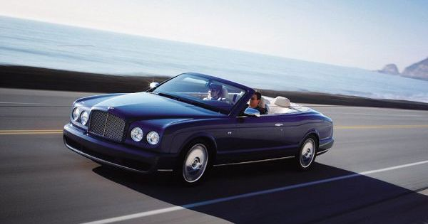 Bentley Azure Interior