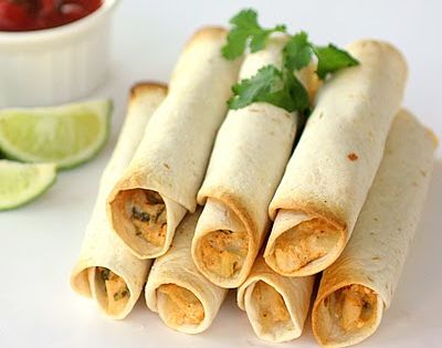 Baked Creamy Chicken Taquitos Ingredients ◦1/3 cup (3 oz) cream cheese ◦