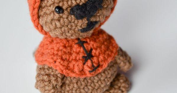 Ewok Crochet Amigurumi : Krawka: Ewok Bear from Star Wars movie - totally free ...