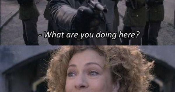 This is my favorite River Song quote from Doctor Who, and the