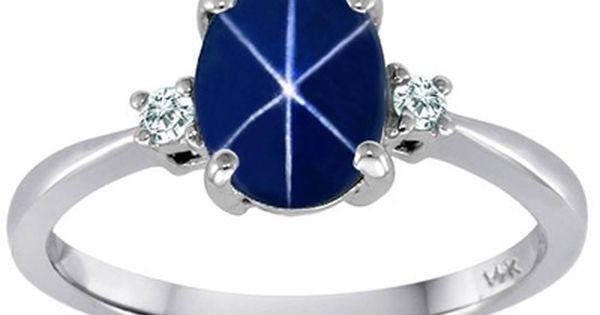 Vintage 10k Yellow Gold Genuine Black Star Sapphire Diamond Retro Jewelry Vintage Jewelry Fine Jewelry