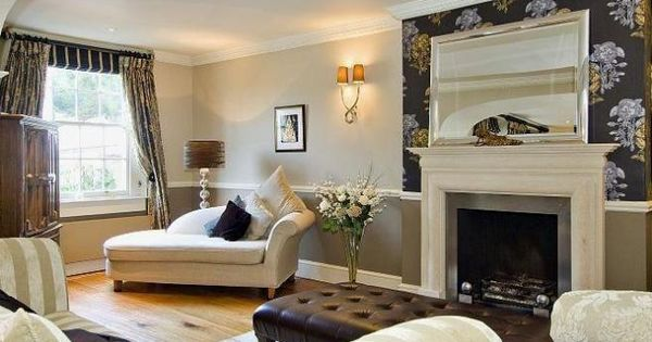 Feature Sandstone Wall And Fireplace In Sitting Room Google Search For The Home Pinterest