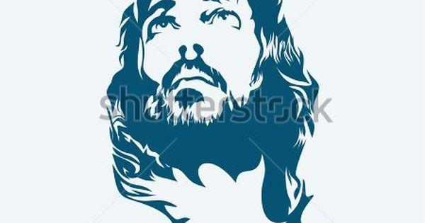 Rostro De Cristo Logo Vectorial (AI) Descarga
