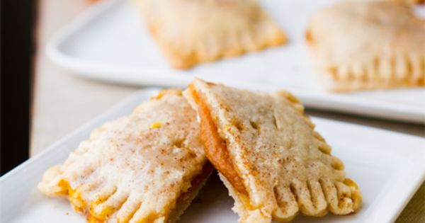 Vegan Pumpkin Pie Pockets with Vanilla Glaze - definitely trying these!