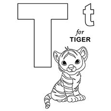 Letter T Coloring Pages Free Printables Momjunction Alphabet Coloring Pages Abc Coloring Pages Abc Coloring